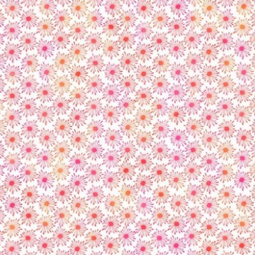 Unusual Garden II - Burst (Orange/White)