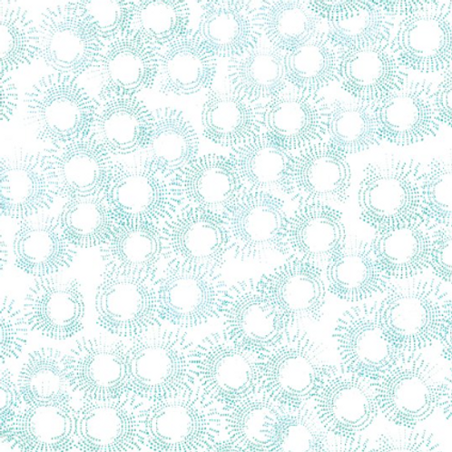 Believe - White w/Teal Blooms