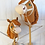 Thumbnail: Mustang Stick Horse - Ride on Toy