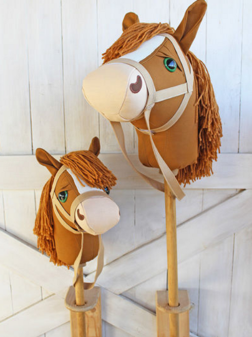 Mustang Stick Horse - Ride on Toy