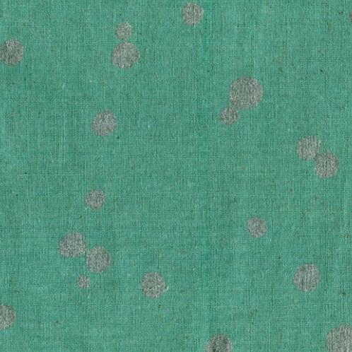 Echino Nico Spot - Canvas Teal