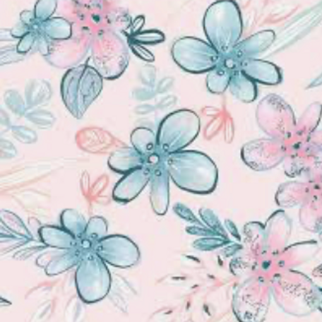 Mommy & Me - Flannel - Pink w/Blooms