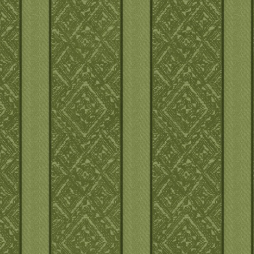 Heritage Woolies - Brocade Stripe - Green