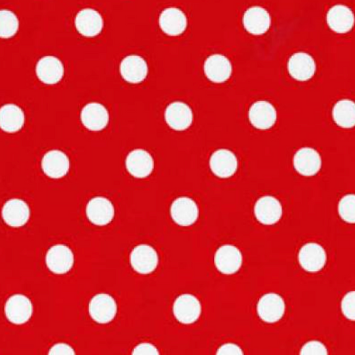 Mickey and Minnie - Dots - Red