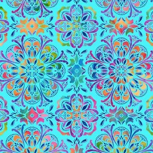 `Butterfly Paradise - Light Blue