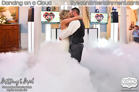 Eyecon Entertainment Dancing on a Cloud Pine Lakes Country Club Myrtle Beach SC