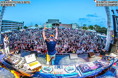 Azalea Festival Concert DJ Eyecon Wilmington NC