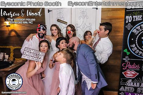 Eyeconic Photo Booth The Watson House Emerald Isle NC