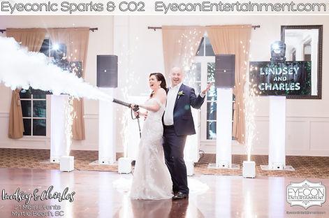 Eyeconic Sparks Eyecon CO2 Cannon Eyecon Entertainment