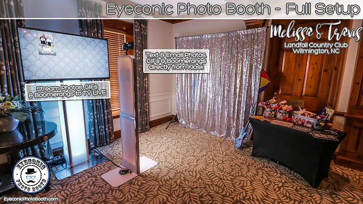 Photo booth Eyecon Entertainment Eyeconic Photo Booth