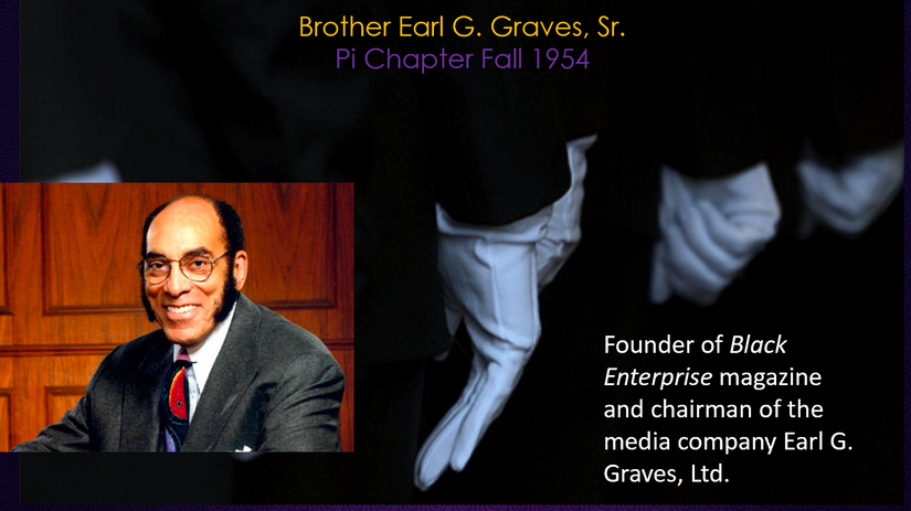 Copain. Earl G. Graves Sr. .png