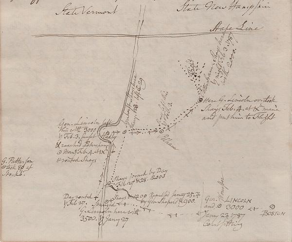 Stiles map-Lincoln movements in Massachu