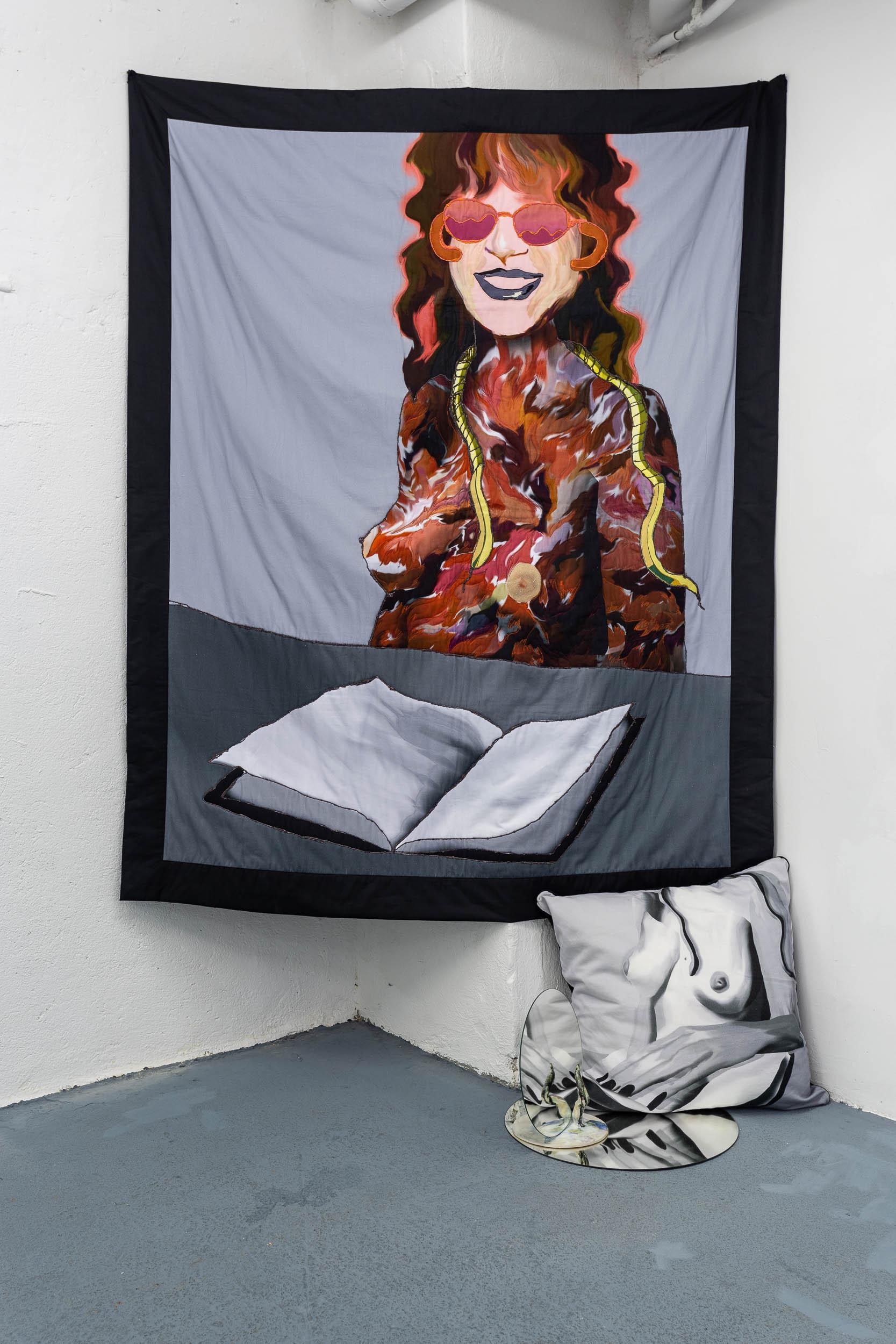 Couverture textile pour Judy Chicago, 160x180cm