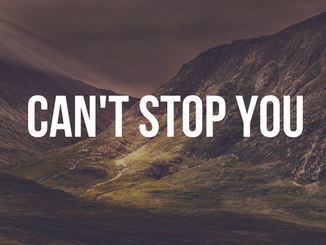 Can't Stop You