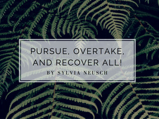 Pursue, Overtake, and Recover All!