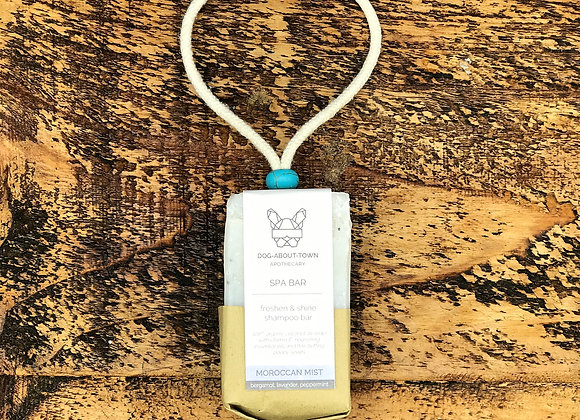 DOG SHAMPOO BAR - MOROCCAN MIST