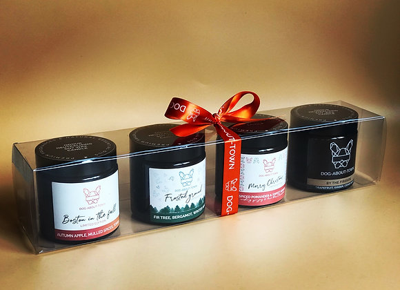 AUTUMN/WINTER 4 TRAVEL CANDLE GIFT SET
