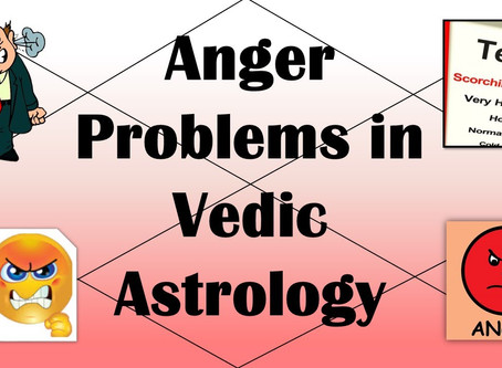 Anger in Astrology