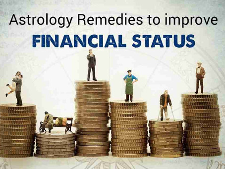 Money Problems in Astrology