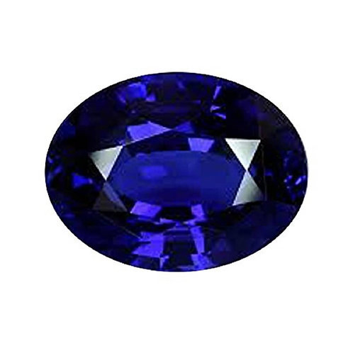 Natural and Genuine Blue Sapphire (Ceylonese) Gemstone - Premium Plus