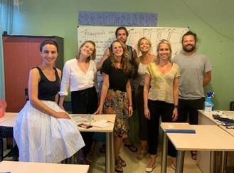 Training sessions Indigo Volunteers