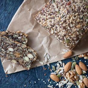 ◉健康ブームの北欧で人気◉  〜グルテンフリーの北欧パレオパン(Stone Age Bread ※石器時代のパン)&ハーブバター作りワークショップ〜
