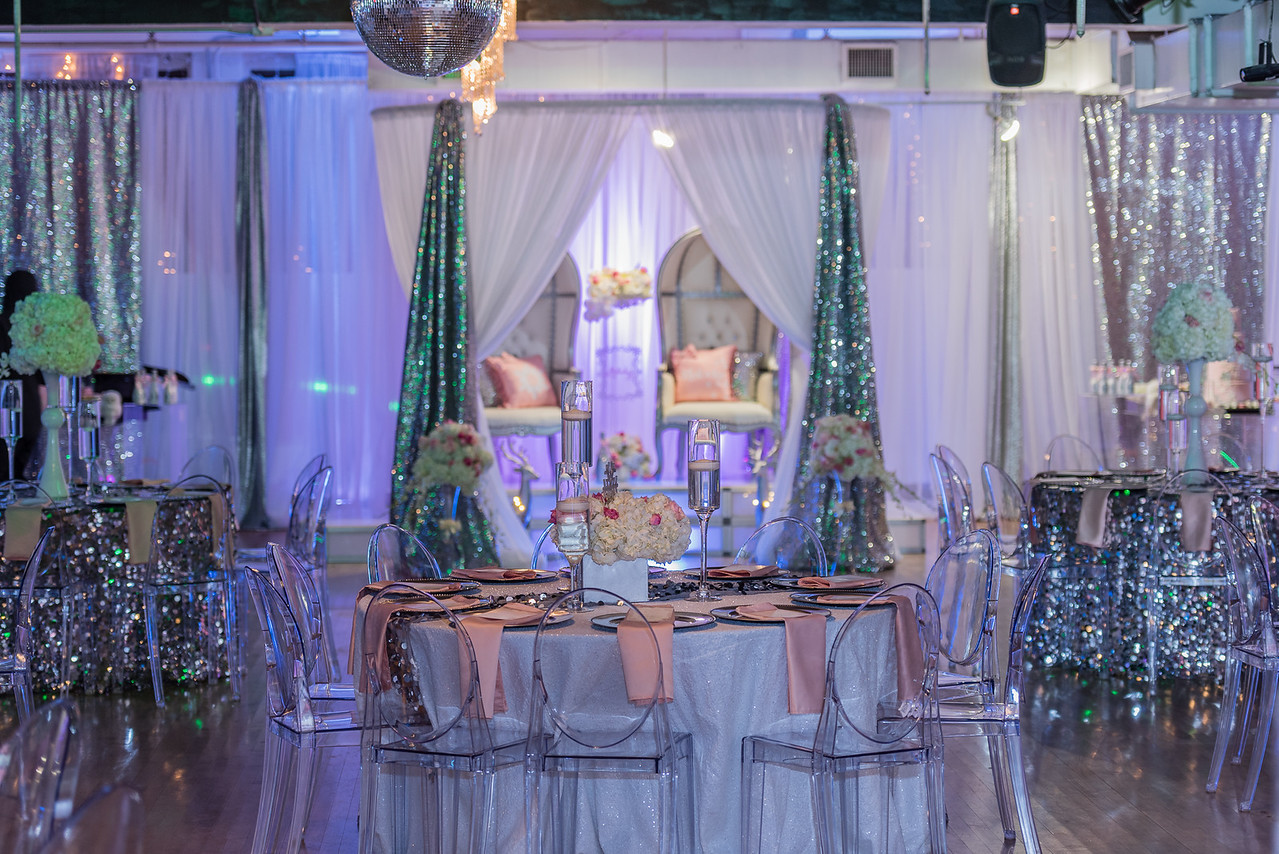 Luxury Package (C +) & Wall Draping