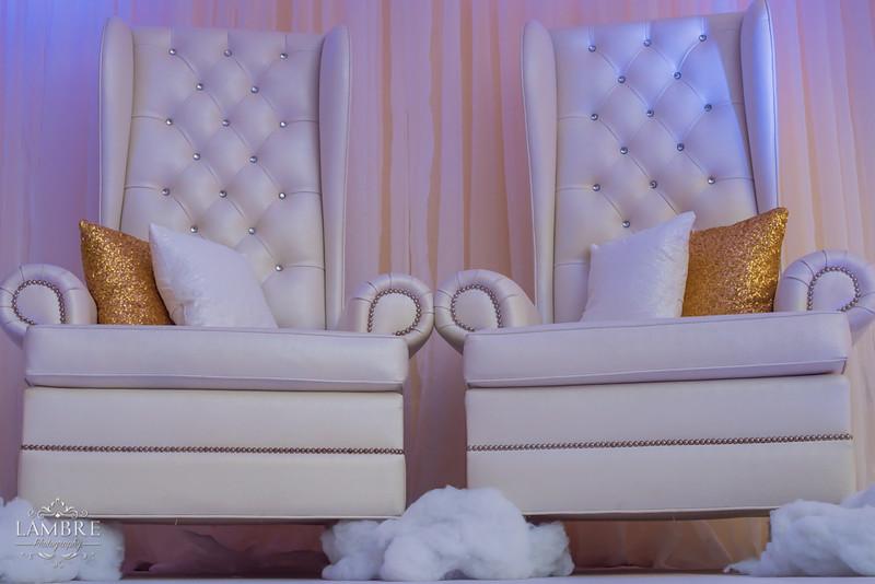White Throne Chairs