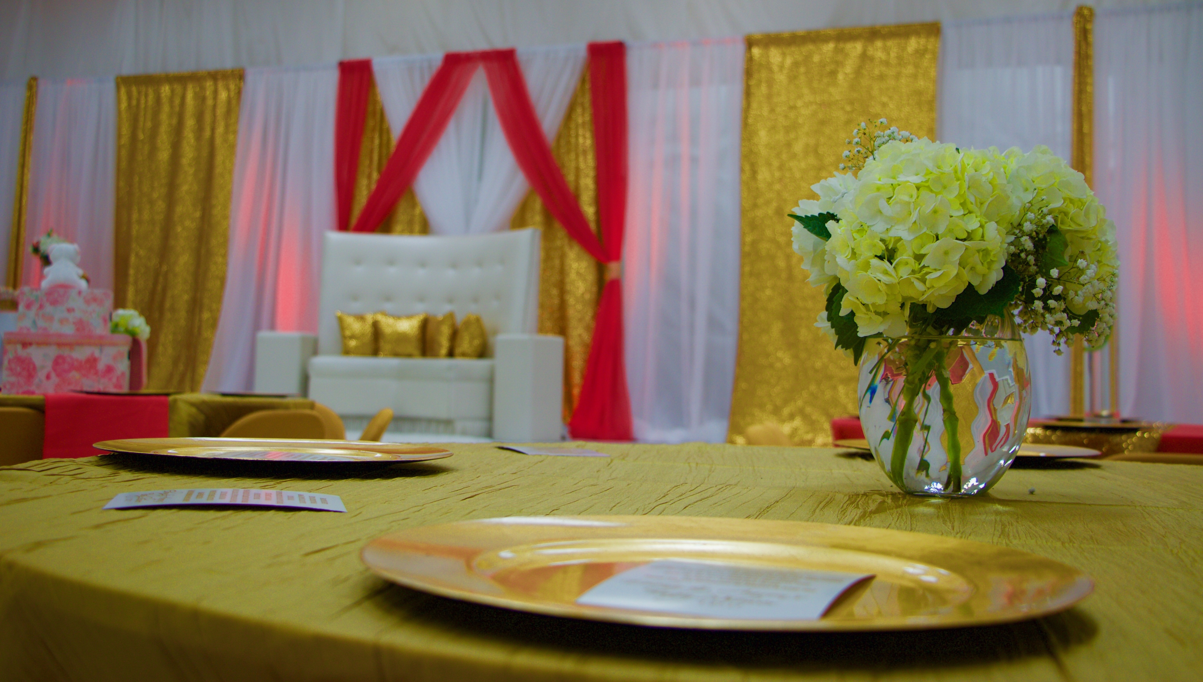 Luxury Package (D) & Extra Draping