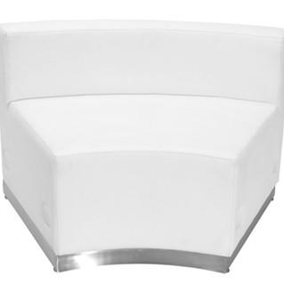 White lounge Inner seater