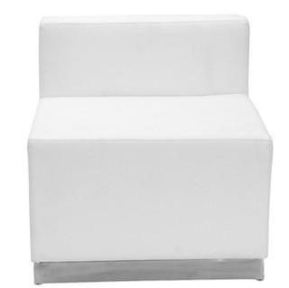 White lounge single seat