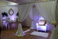 Luxury Package (B) & Backdrop