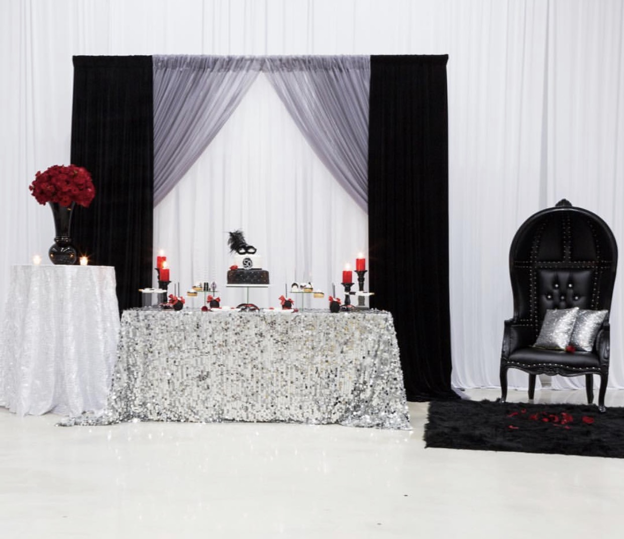 Backdrop and Dome Chair