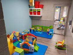 Dit is een speelruimte van Mini-crèche 't Schildpadje