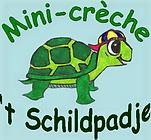 Dit is het logo van Mini-crèche 't Schildpadje