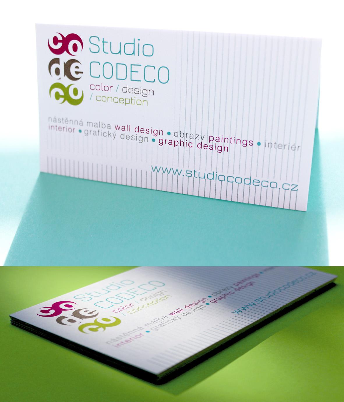 Vizitka Studio CODECO