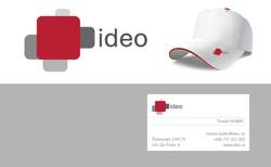 Logo IDEO a vizitka