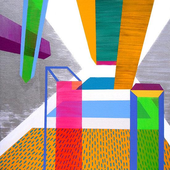 Osobní prostor 10 / My Personal Space 10 / 30x30 cm