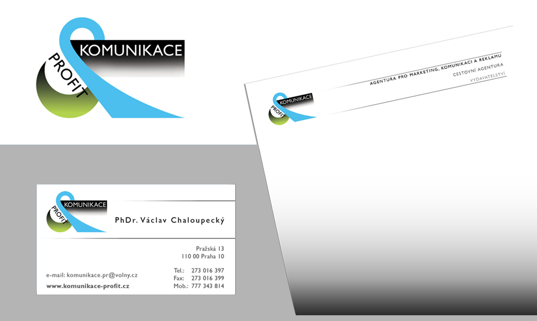 Logo, Business Card, Letterhead