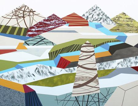 Osobní krajina 30 / My Personal Landscape 30 / 100x130 cm