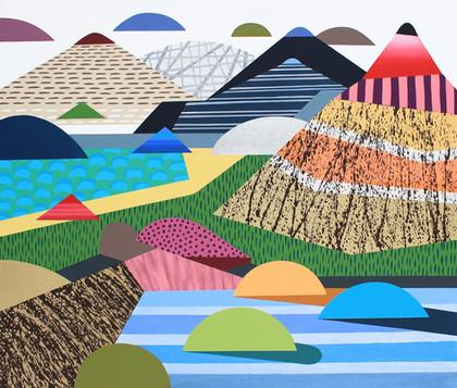 Osobní krajina 19 / My Personal Landscape 19 / 85x100 cm