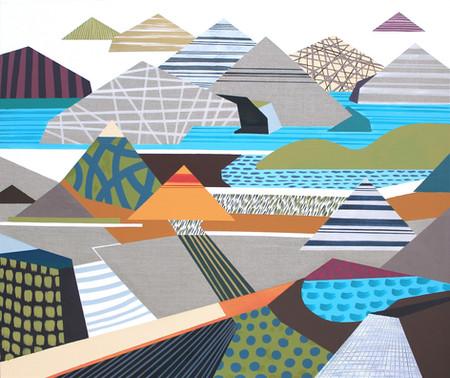 Osobní krajina 22 / My Personal Landscape 22 / 110x130 cm