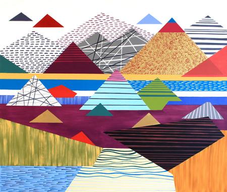 Osobní krajina 10 / My Personal Landscape 10 / 85x100 cm