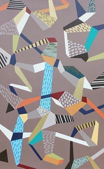 Hra & rozmanitost 17 / Play & Diversity 17 / 60x100 cm