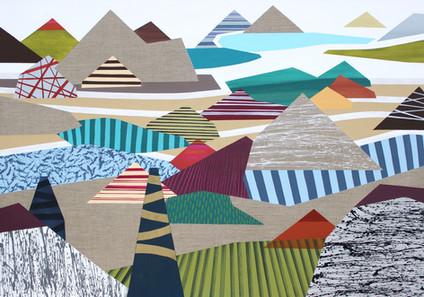 Osobní krajina 21 / My Personal Landscape 21 / 95x135 cm