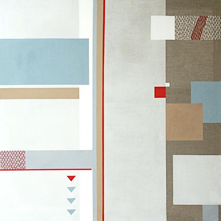 Hledání rovnováhy 1 / Looking for balance 1 / 120x120 cm