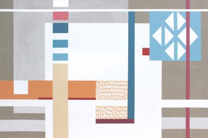 Hledání rovnováhy 4 / Looking for balance 4 / 100x150 cm