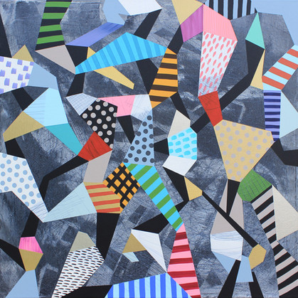 Hra & rozmanitost 11 / Play & Diversity 11 / 100x100 cm