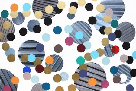 Kolečka 7 / Only dots 7 / 90x135 cm