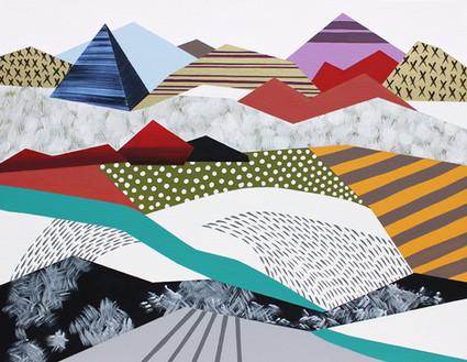 Osobní krajina 27 / My Personal Landscape 27 / 70x90 cm